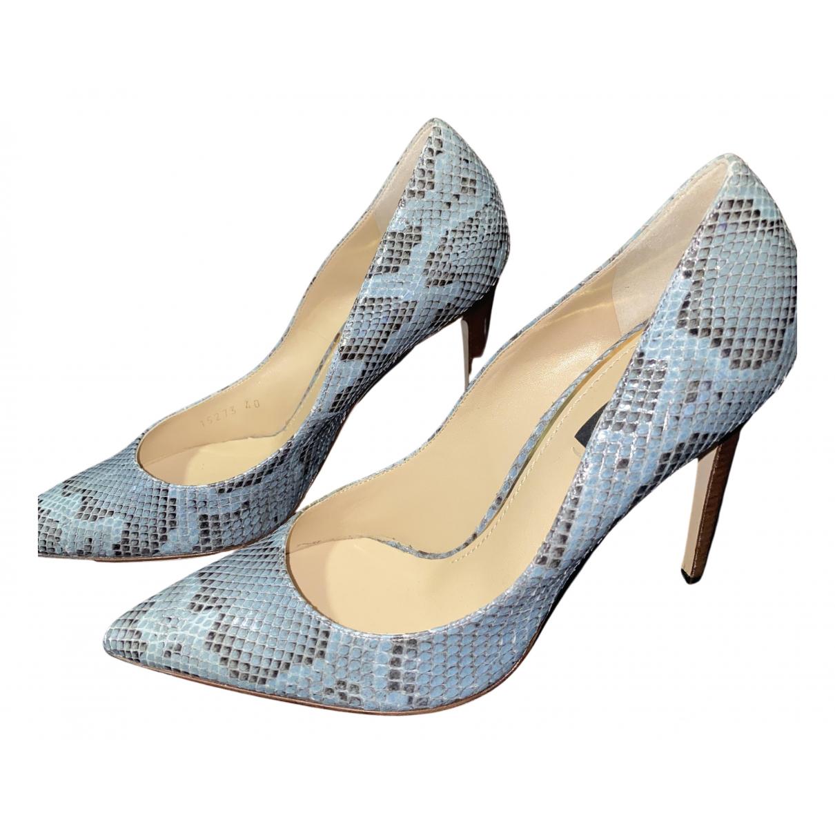 Dolce & Gabbana \N Pumps in  Blau Python