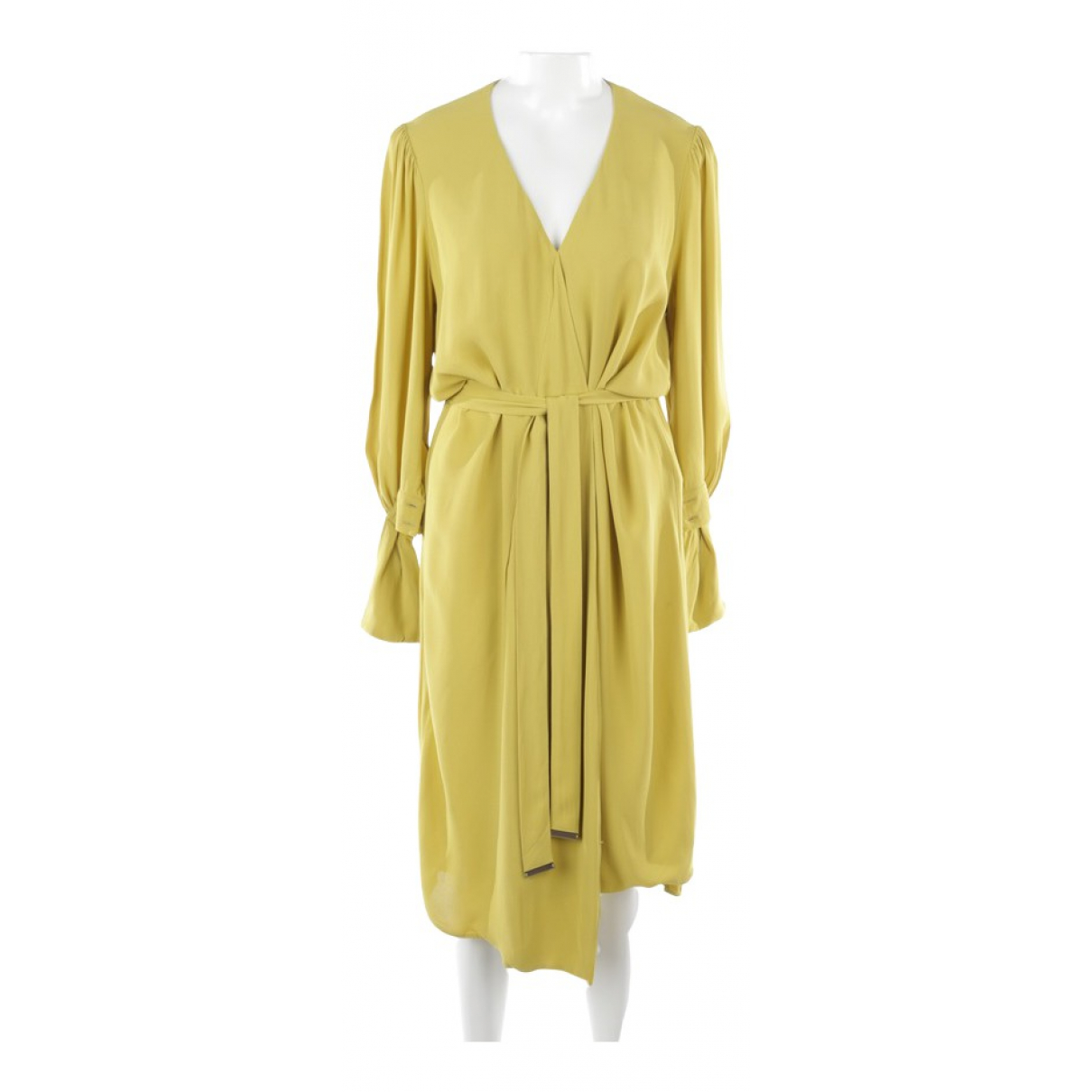 Elisabetta Franchi \N Yellow dress for Women 38 FR