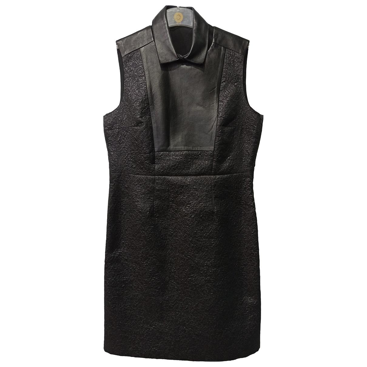 Zapa - Robe   pour femme en coton - noir