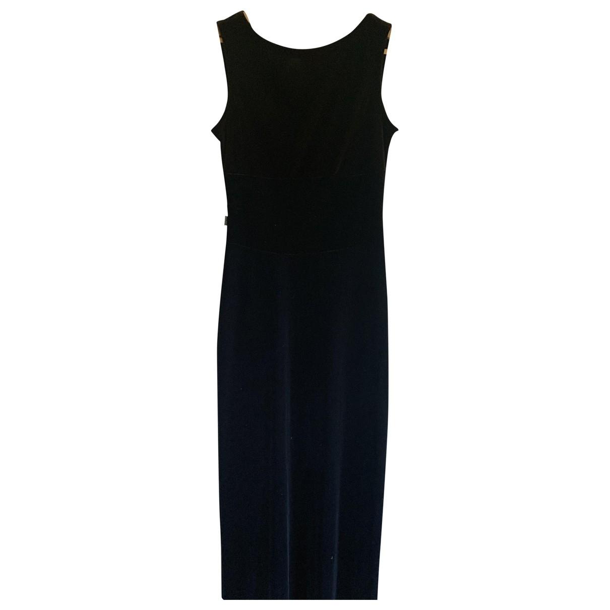 Moschino \N Blue Velvet dress for Women 38 FR