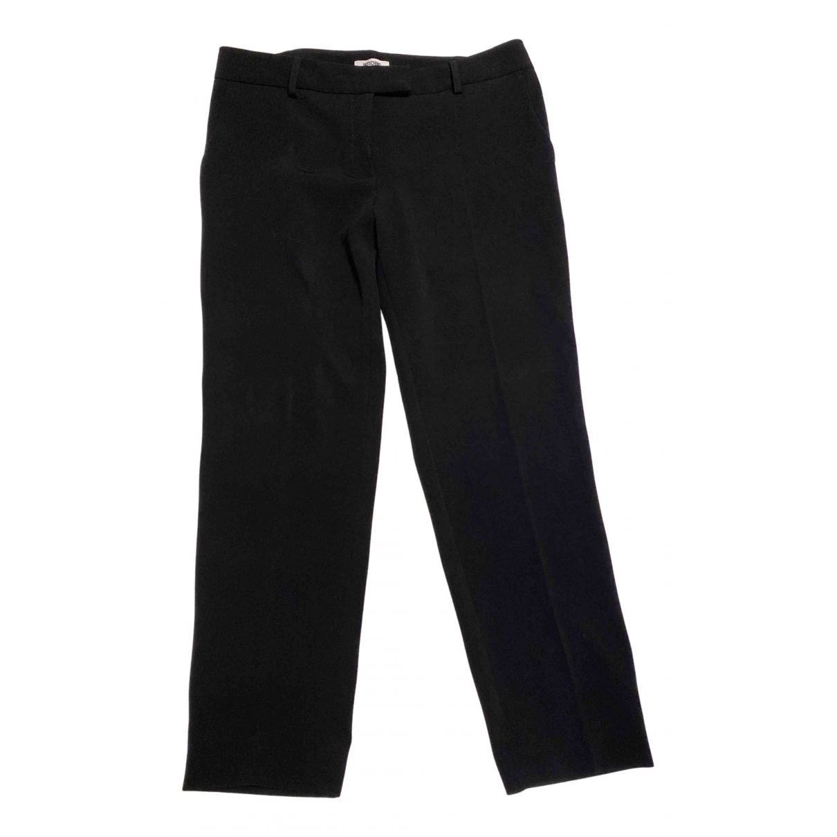 Moschino Cheap And Chic N Black Trousers for Women 40 IT
