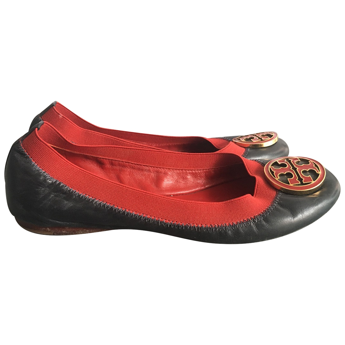 Tory Burch \N Multicolour Leather Ballet flats for Women 5 US