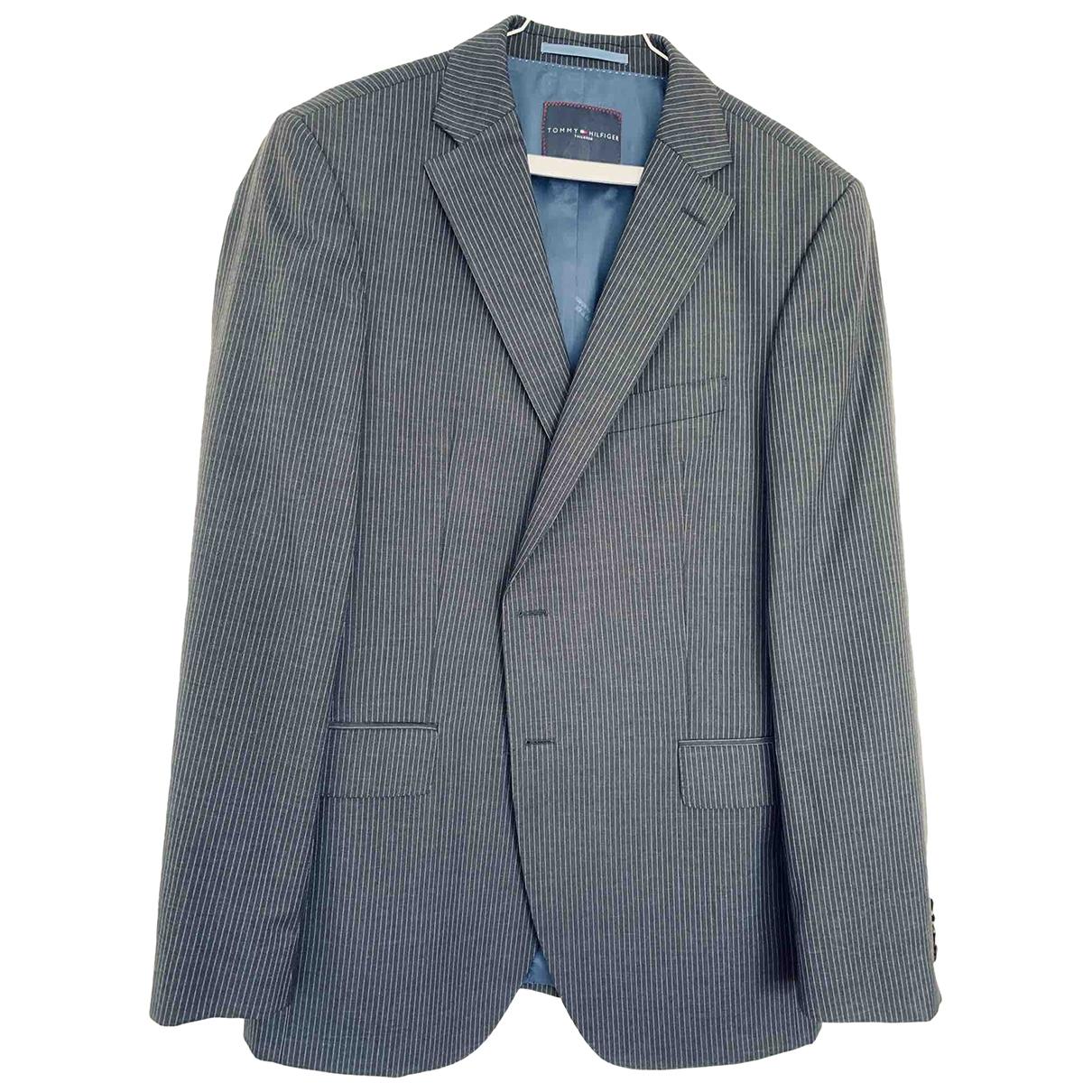 Tommy Hilfiger \N Grey Wool Suits for Men M International