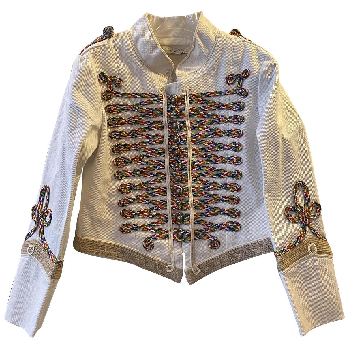 Stella Mccartney Kids \N Beige Denim - Jeans jacket & coat for Kids 6 years - up to 114cm FR