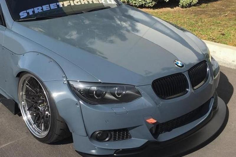 StreetFighterLA SFXLA-E92-CBNLIP Front Lip Carbon Fiber BMW 3 Series E92 Coupe 08-13