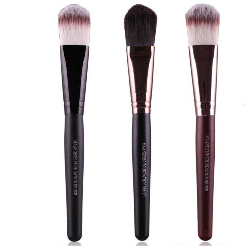 MAANGE Makeup Brush Powder Blush Contour Foundation Cosmetics Tools 3 Colors