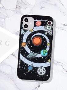 Planet Print iPhone Case
