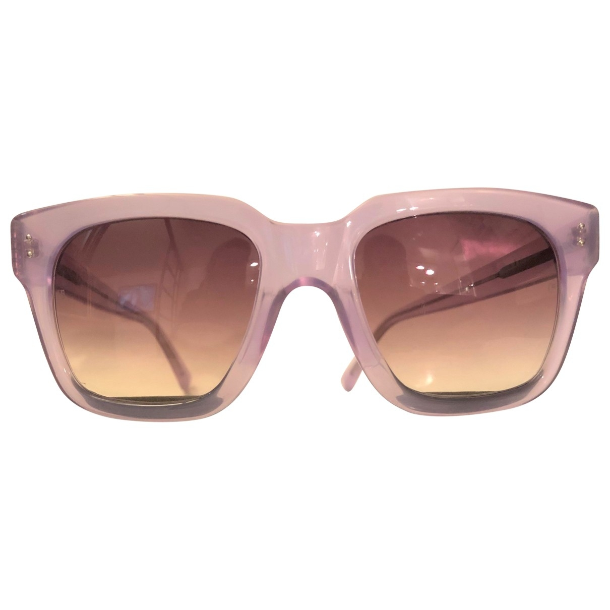 Linda Farrow \N Purple Sunglasses for Women \N