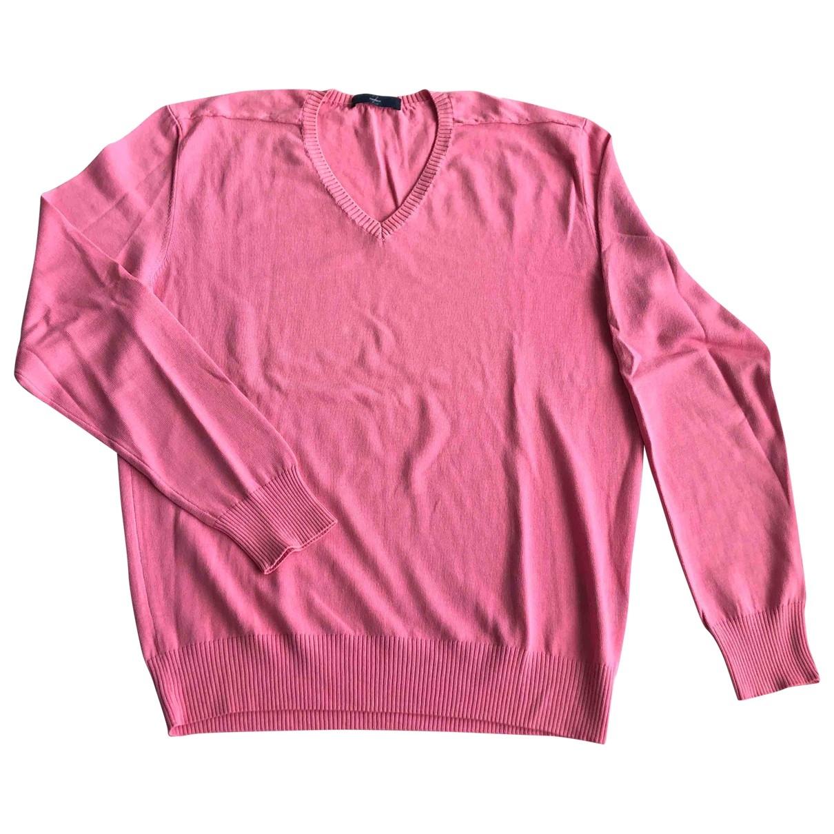 Z Zegna \N Pink Cotton Knitwear & Sweatshirts for Men M International