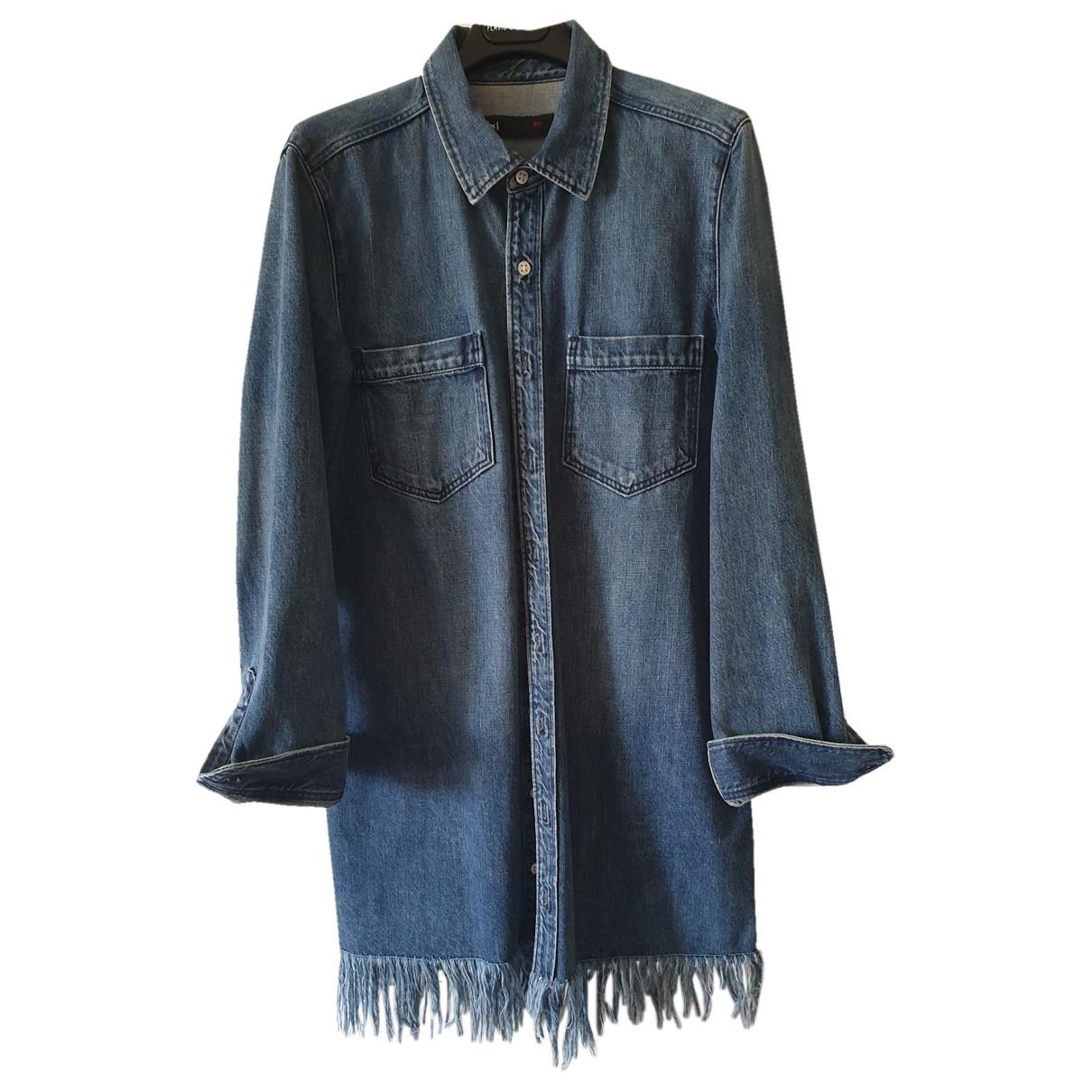3x1 - Robe   pour femme en denim - bleu