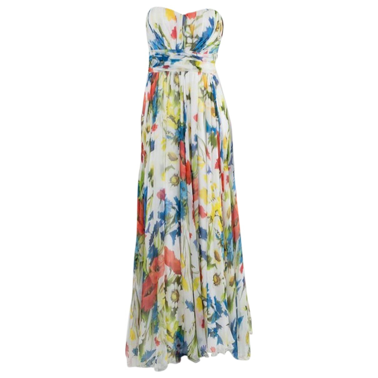 Dolce & Gabbana N Multicolour Silk dress for Women 38 IT