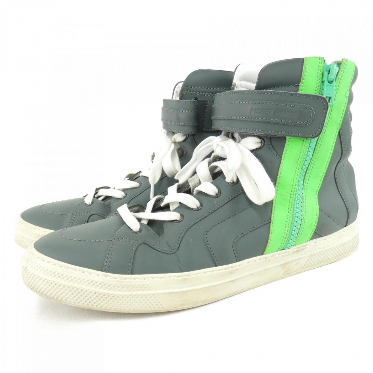 Pierre Hardy \N Sneakers in  Gruen Leder
