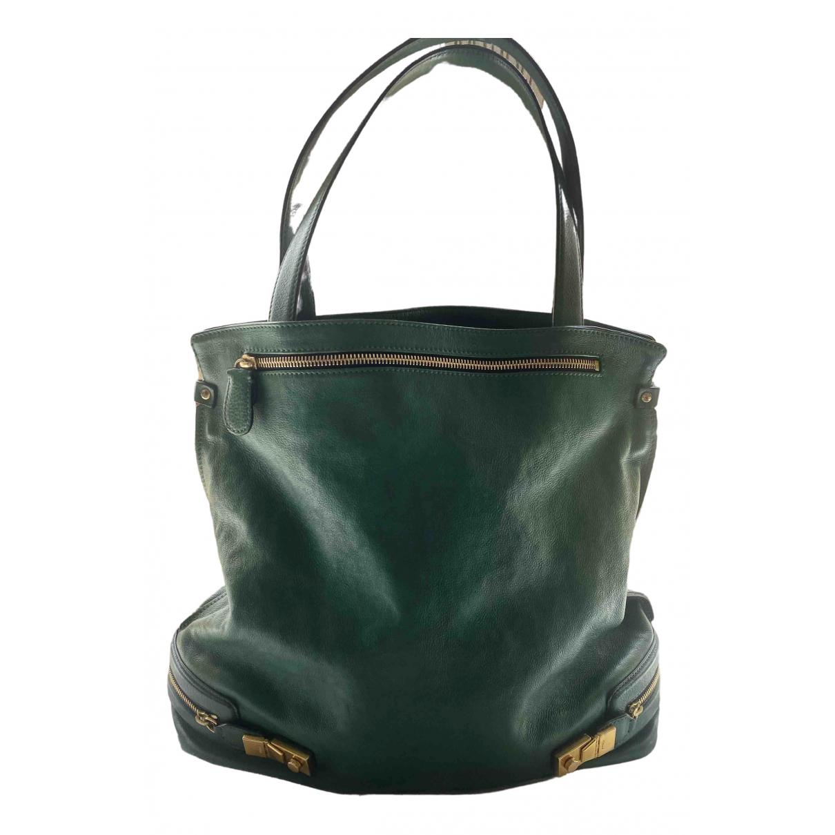 Chloé \N Green Leather handbag for Women \N