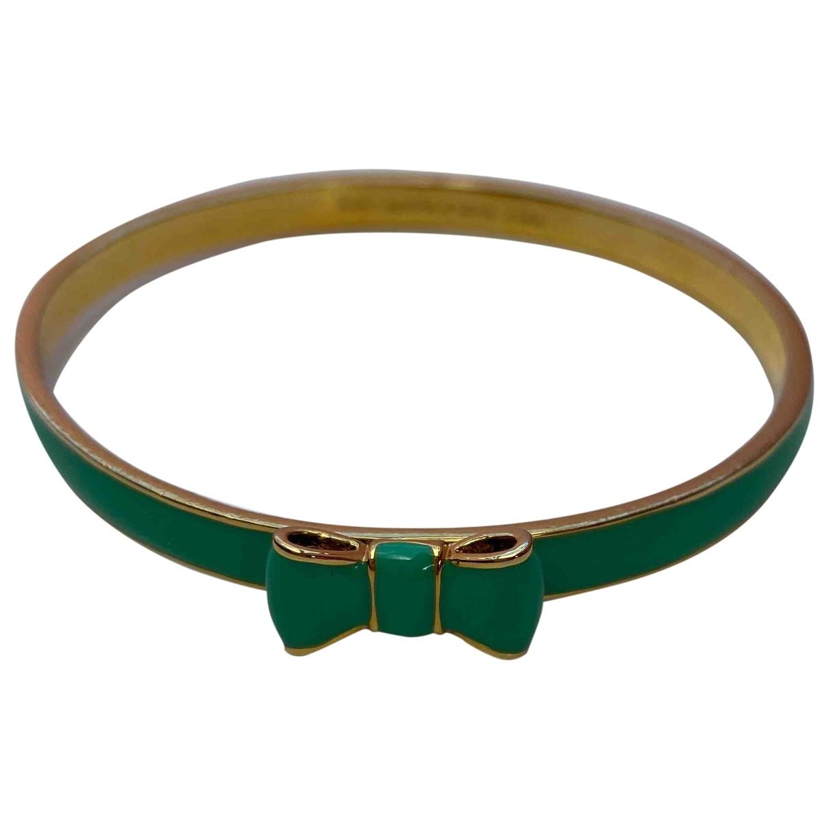 Kate Spade - Bracelet   pour femme en metal - turquoise