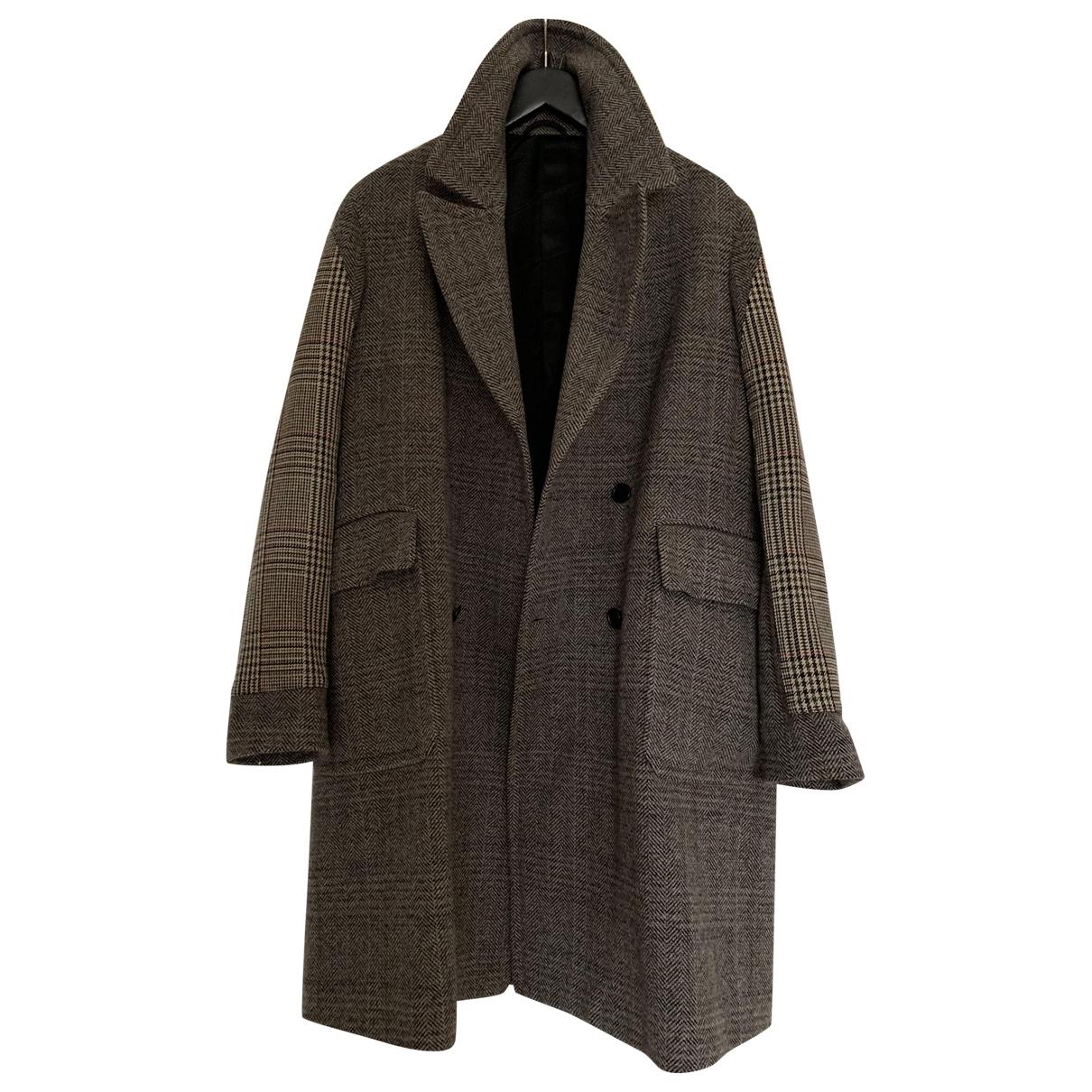 Stella Mccartney - Manteau   pour homme en laine - marron
