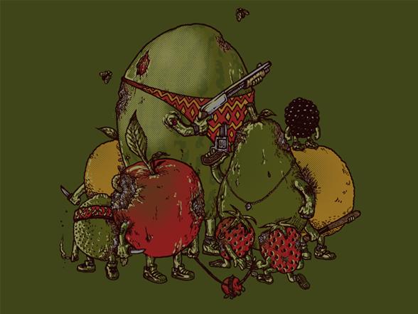 Rotten Fruit T Shirt