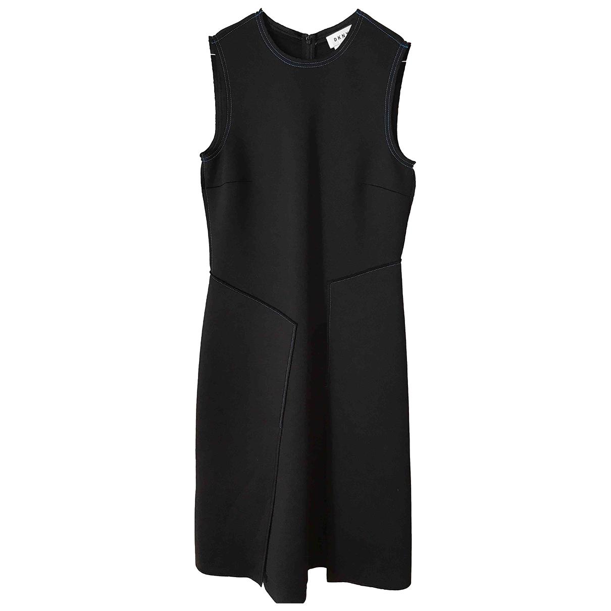 Dkny \N Kleid in  Rosa Polyester