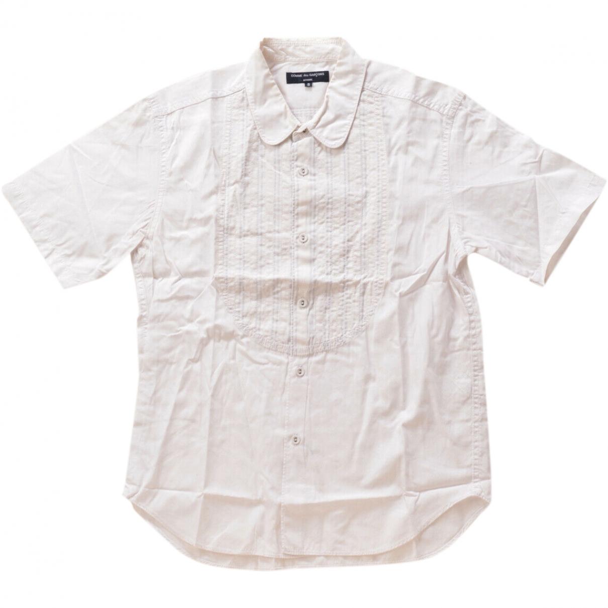 Comme Des Garcons \N Hemden in  Weiss Baumwolle