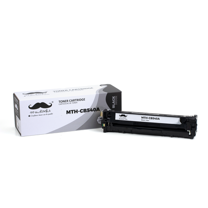 Compatible HP Color LaserJet CP1210 Black Toner Cartridge - Moustache