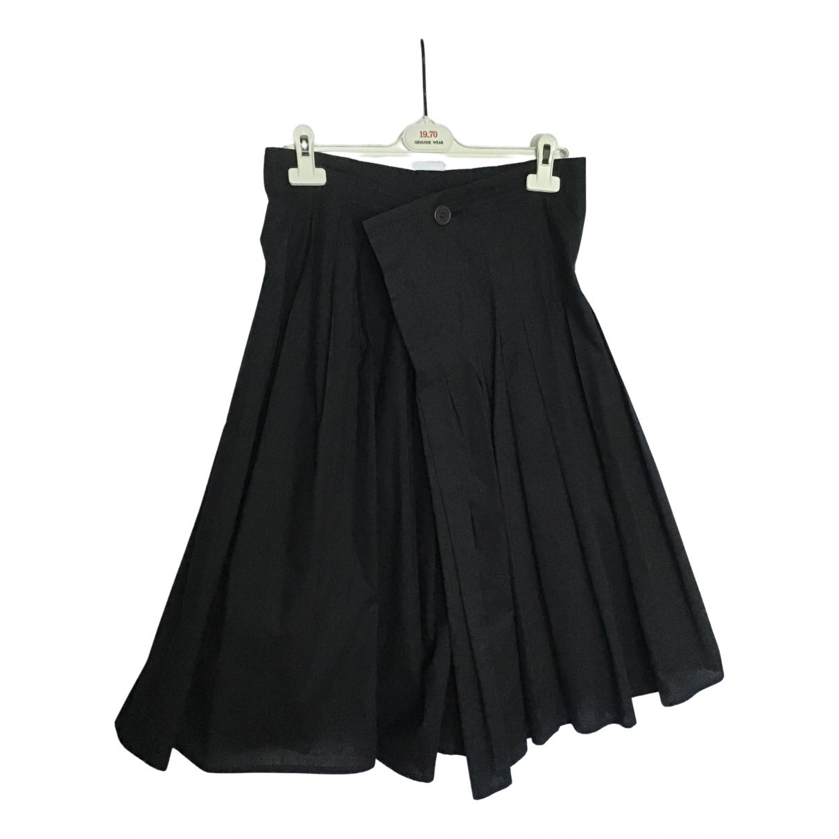 Y's N Black Cotton skirt for Women 2 0-5