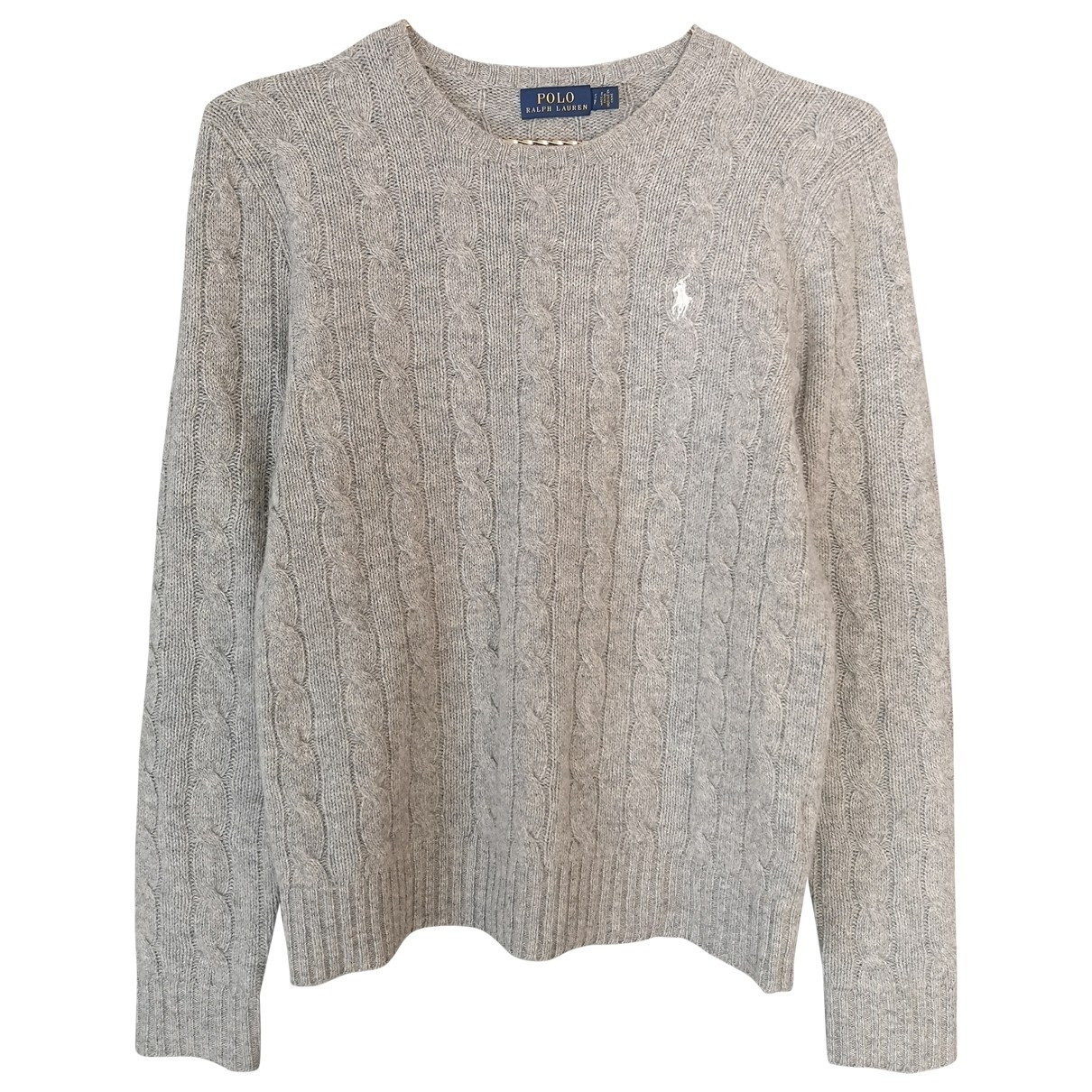 Polo Ralph Lauren \N Grey Wool Knitwear for Women S International