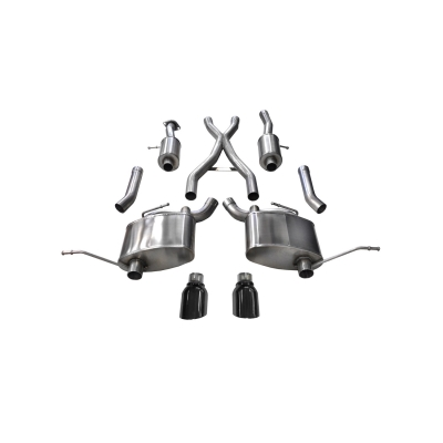 Corsa Sport Cat-Back Exhaust System - 14991BLK