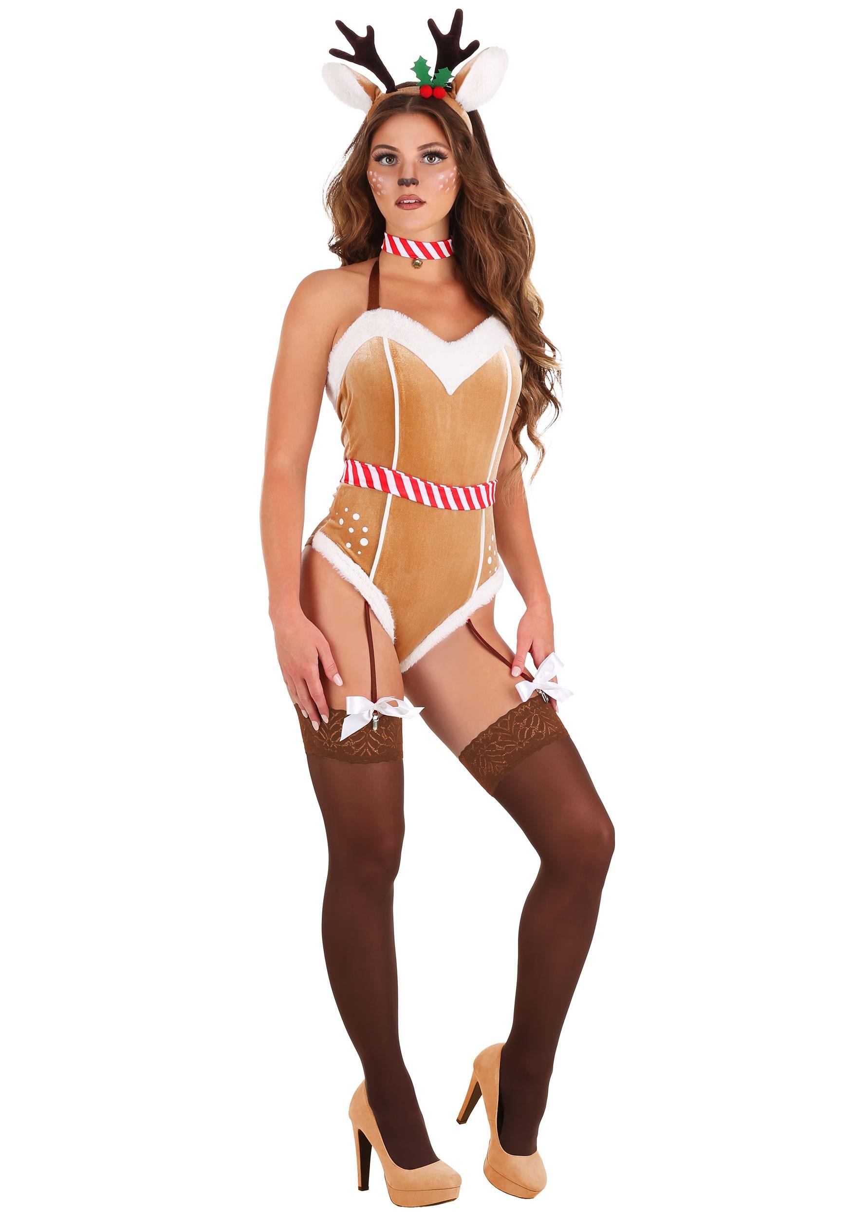 Sexy Women's Reindeer Costume