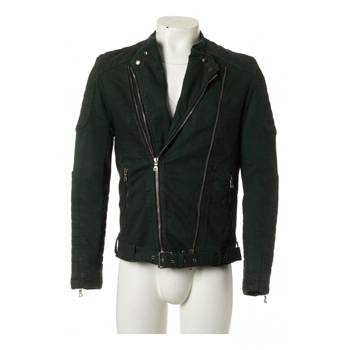 Balmain \N Green Cotton coat  for Men XL International