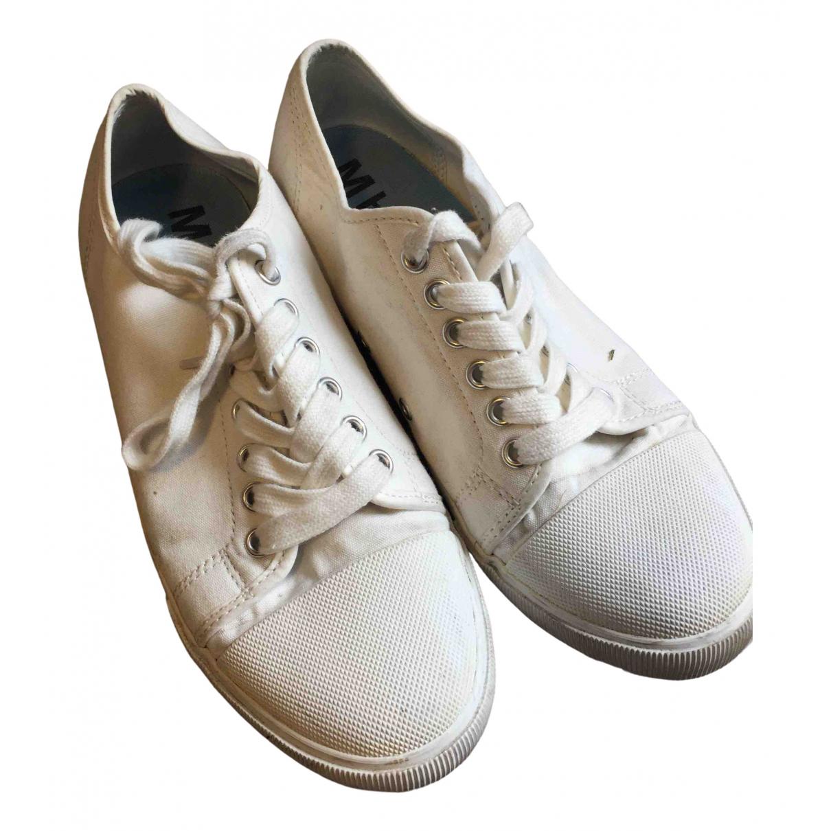 Margaret Howell \N Sneakers in  Weiss Leinen