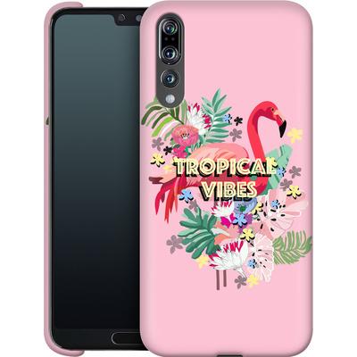 Huawei P20 Pro Smartphone Huelle - Flamingo Solo von Mukta Lata Barua