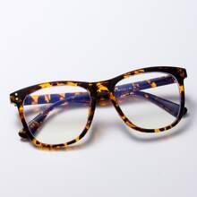 Leopard Frame Glasses