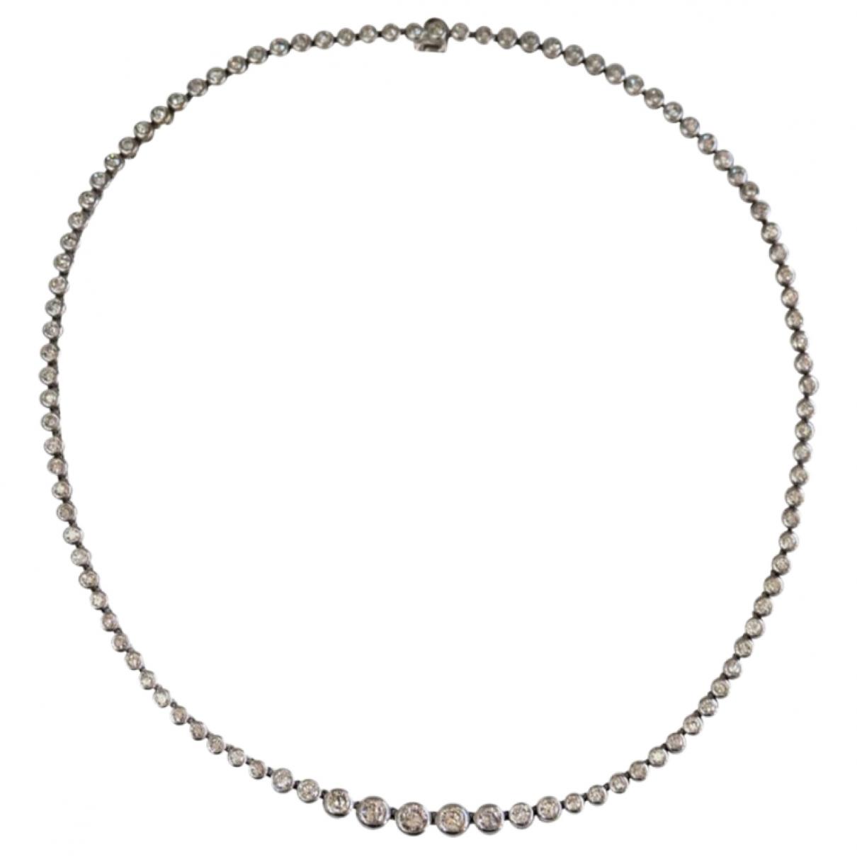 Collar Tennis de Oro blanco Non Signe / Unsigned
