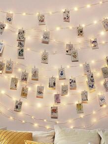 30pcs Clip Bulb String Light