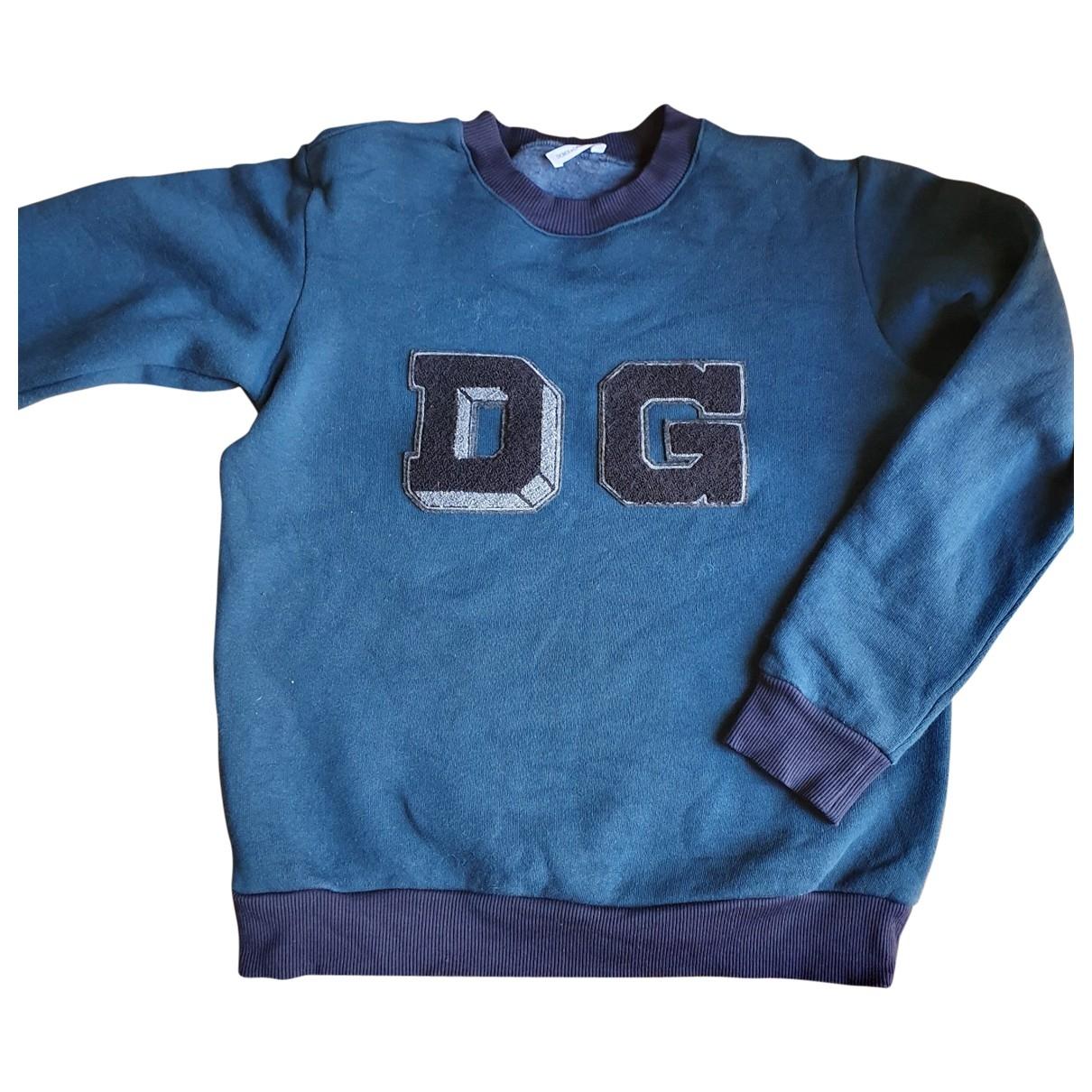 Dolce & Gabbana \N Green Cotton Knitwear for Kids 12 years - XS FR