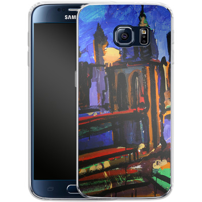 Samsung Galaxy S6 Silikon Handyhuelle - Alive At Night von Tom Christopher