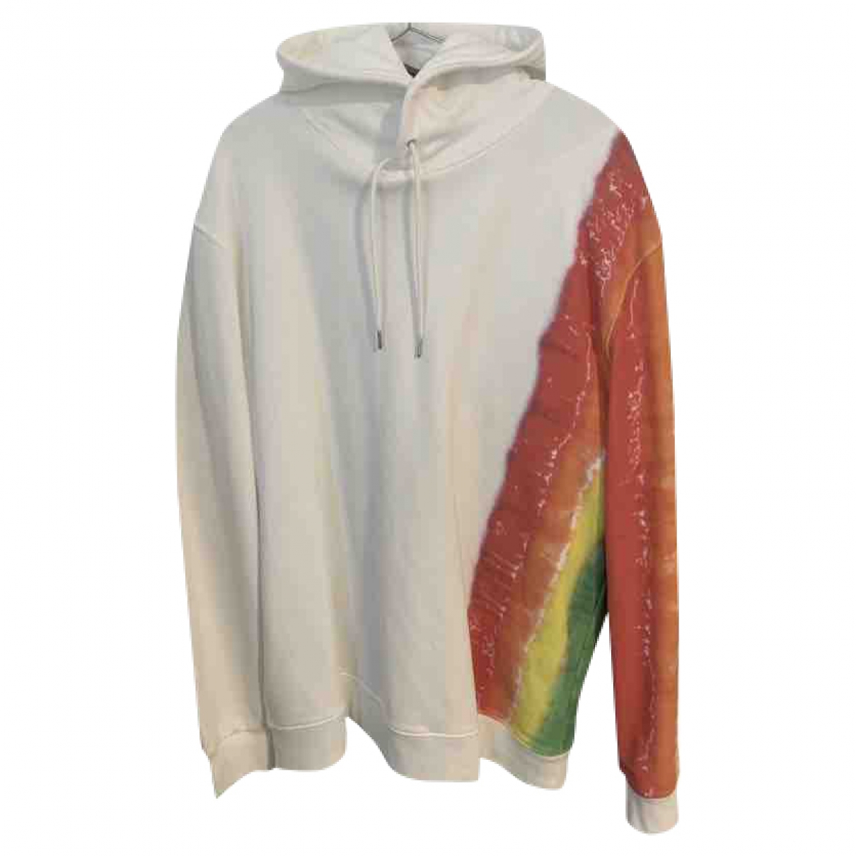 Burberry \N Pullover.Westen.Sweatshirts  in  Weiss Baumwolle