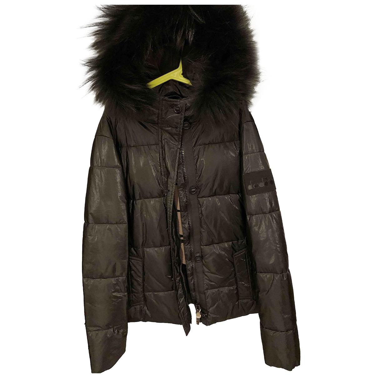 Diadora Heritage - Blousons.Manteaux   pour enfant - noir