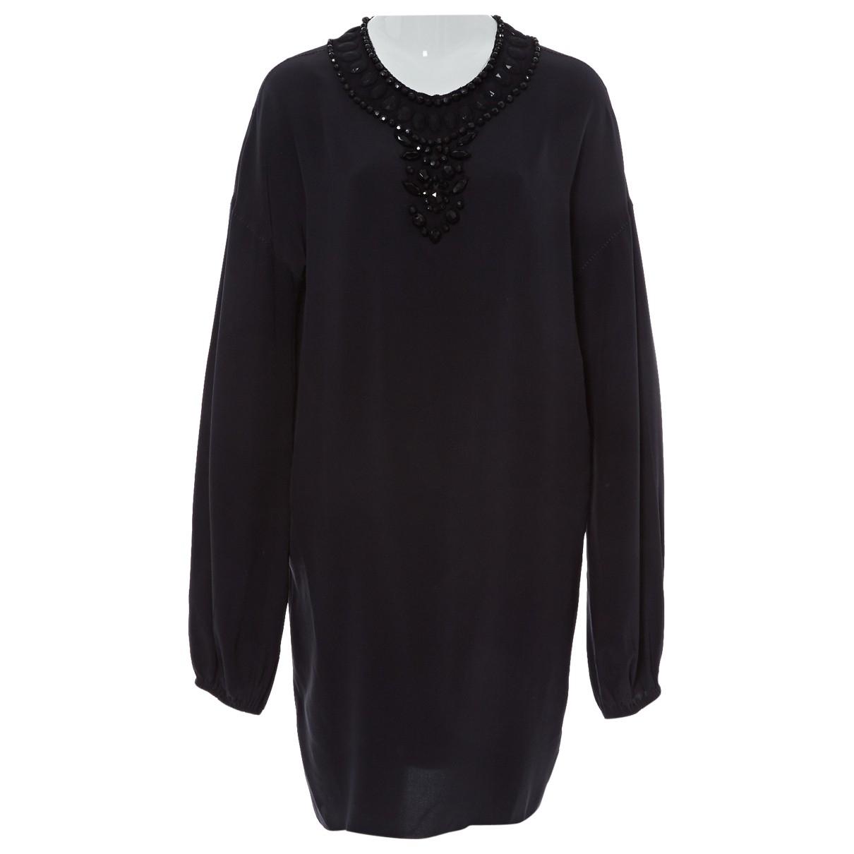 Lanvin \N Purple Silk dress for Women 36 FR