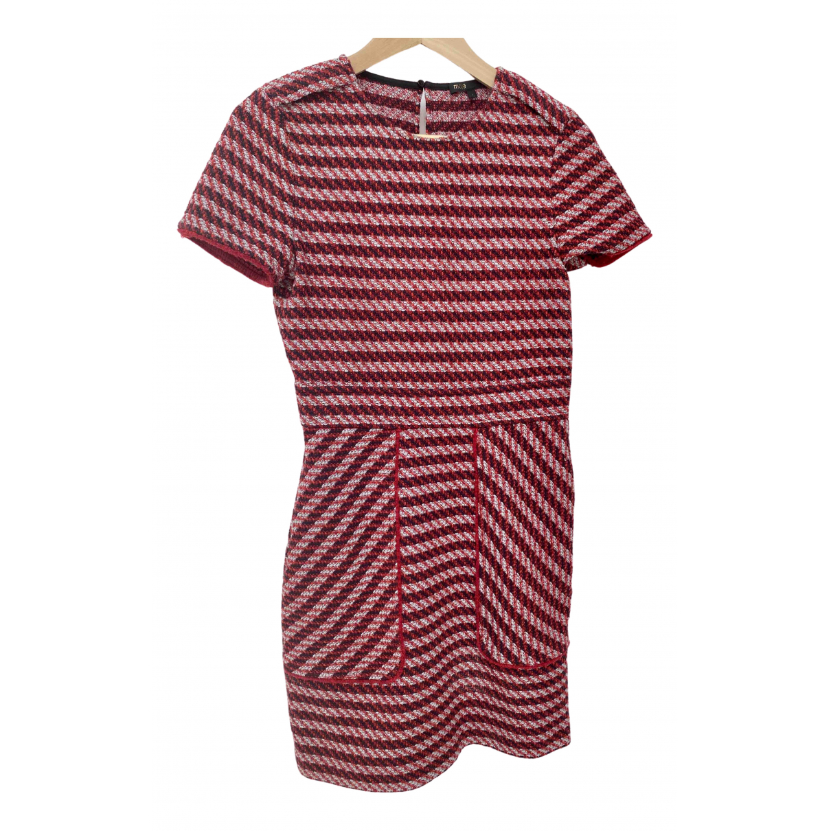 Maje \N Red Cotton dress for Women 1 0-5