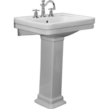 3-644WH Sussex 550 Pedestal Lavatory  4cc