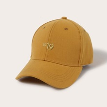 Number Embroidered Baseball Cap