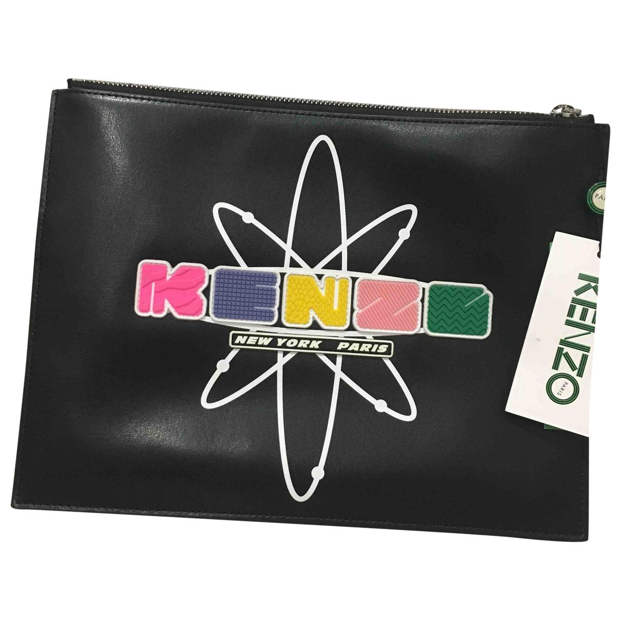 Kenzo \N Kleinlederwaren in  Schwarz Leder