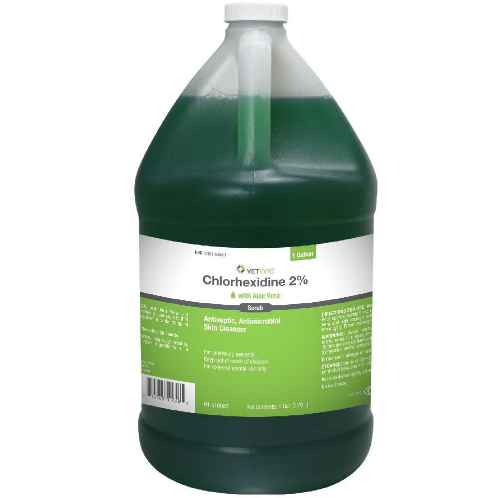 Chlorhexidine 2% Scrub with Aloe Vera (1 Gallon)