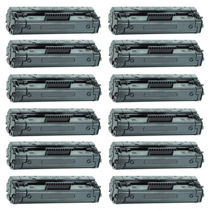 Compatible HP 92A C4092A Black Toner Cartridge - Economical Box - 12/Pack