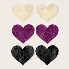 3pairs Heart Nipple Cover