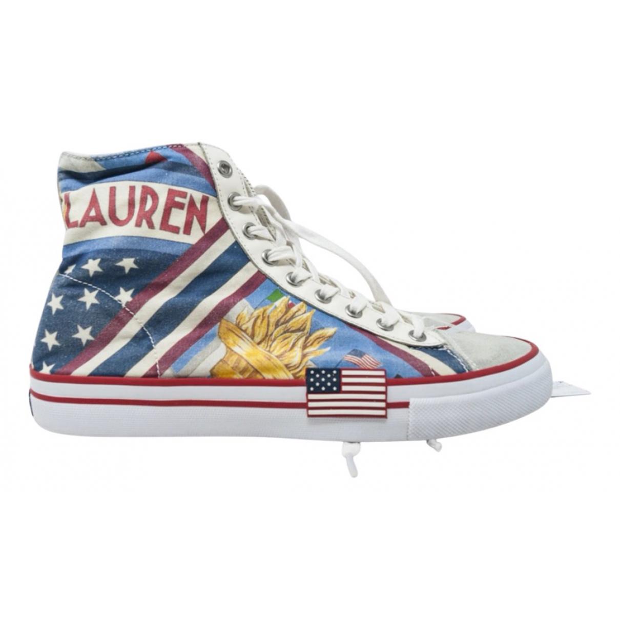 Polo Ralph Lauren \N Sneakers in  Bunt Leder