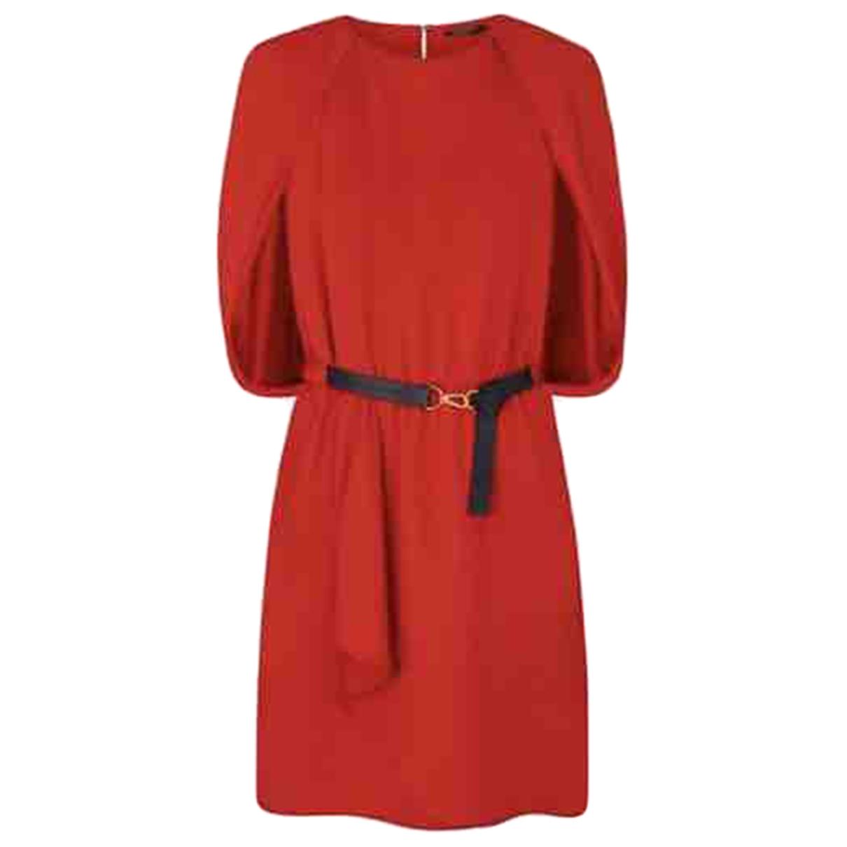 Louis Vuitton - Robe   pour femme - rouge