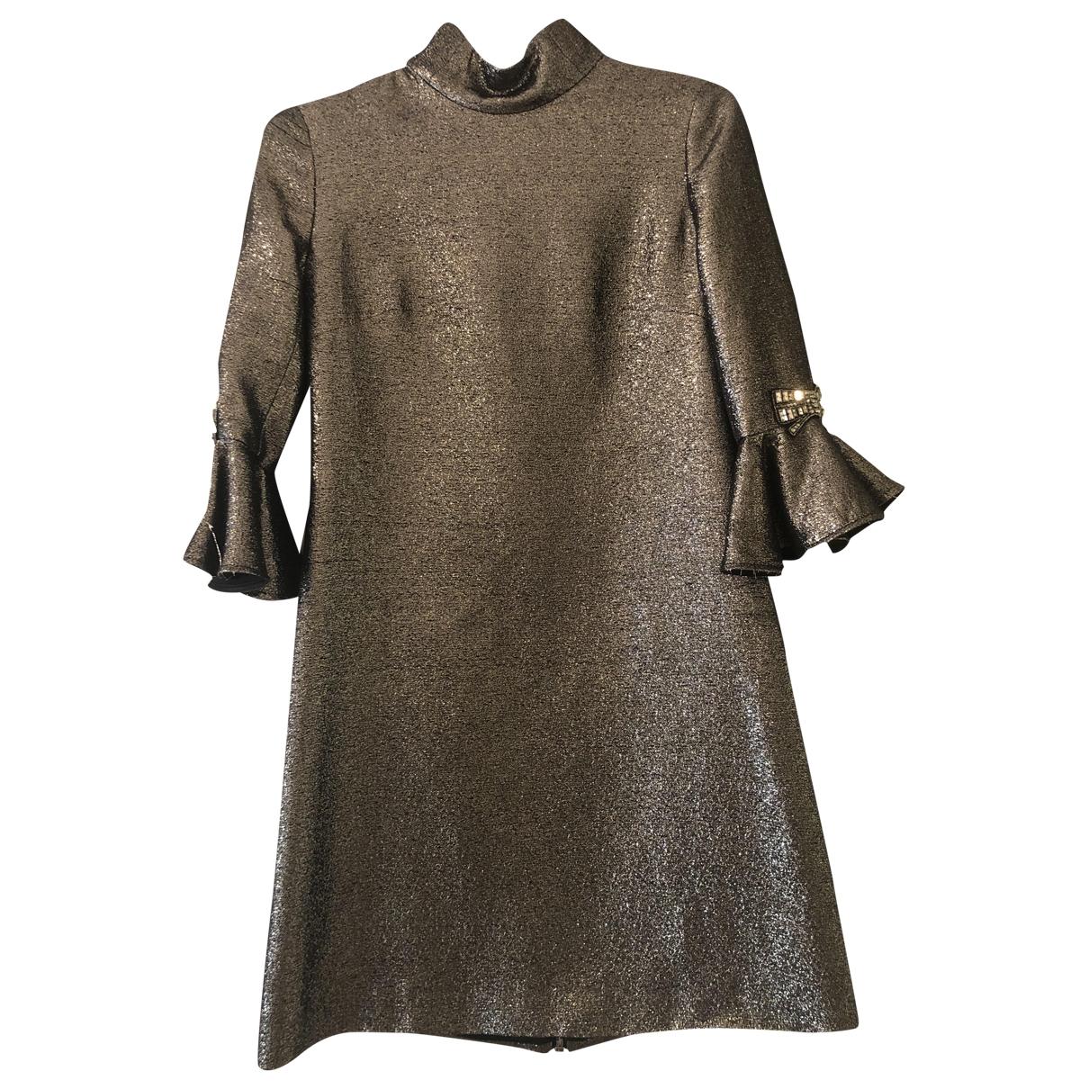 Amen Italy - Robe   pour femme - metallise