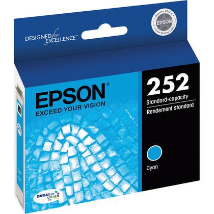 Epson 252 T252220 cartouche d'encre originale cyan