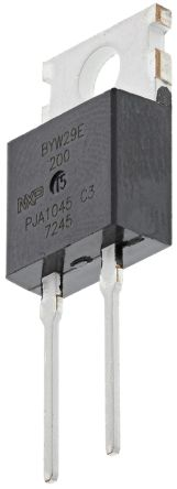 WeEn Semiconductors Co., Ltd 200V 8A, Silicon Junction Diode, 2-Pin TO-220AC BYW29E-200 (5)